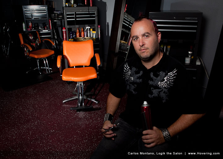 Maui hair stylist Carlos Montano