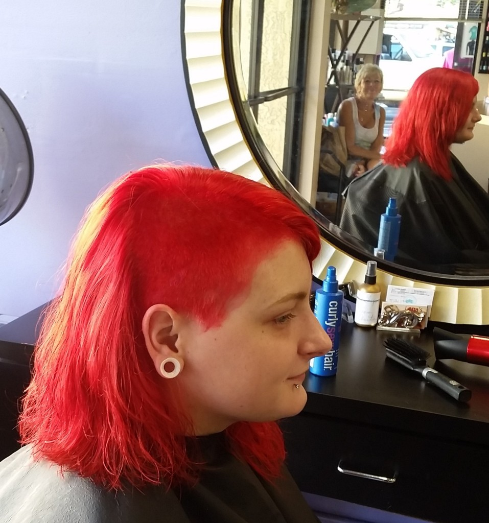 red hair dye maui