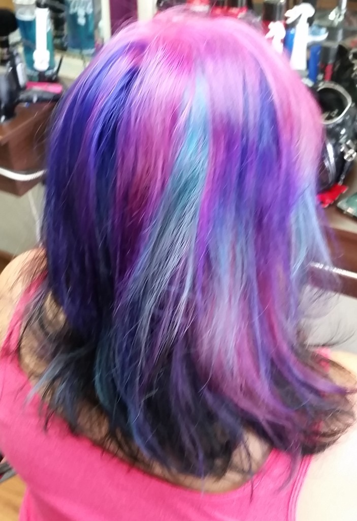 unicorn hair color maui