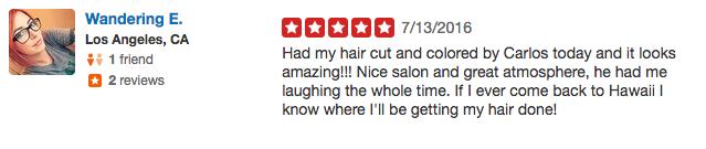 maui hair salon review