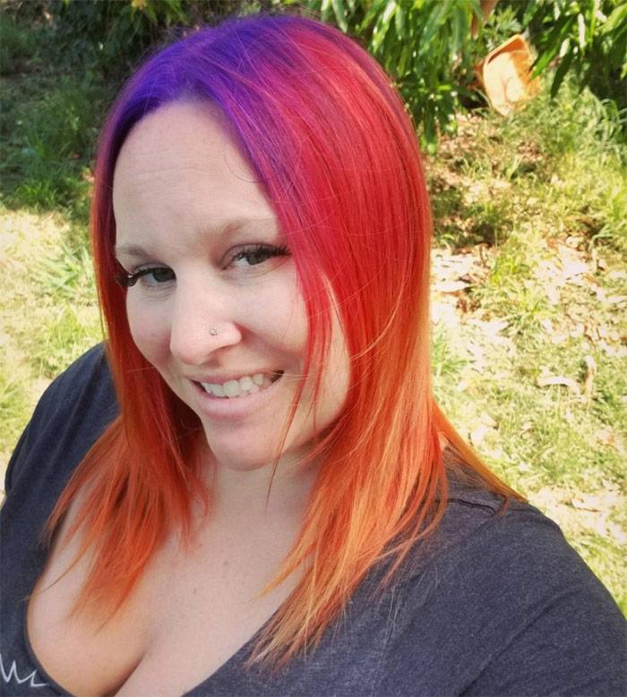 Artistic Hair Color Funky Hair Color Vibrant Hair Color