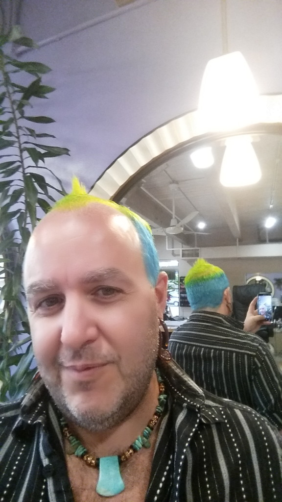 crazy hair dye colorist